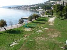 Plot near Trogir