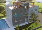 New apartments and luxury semi-detached house near Nin