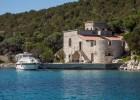 Castle on an island near Zadar