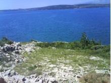 Building plot by the sea in Zadar, real estates Croatia sale